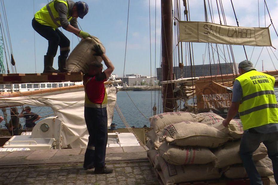 Le Havre : le retour des cargos à voile