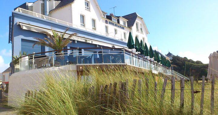 Retrouver l'Hôtel de la plage